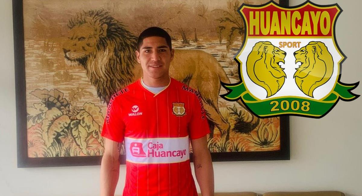 Ángel Zamudio estará bajo los tres palos de Sport Huancayo en el 2021. Foto: Facebook Sport Huancayo