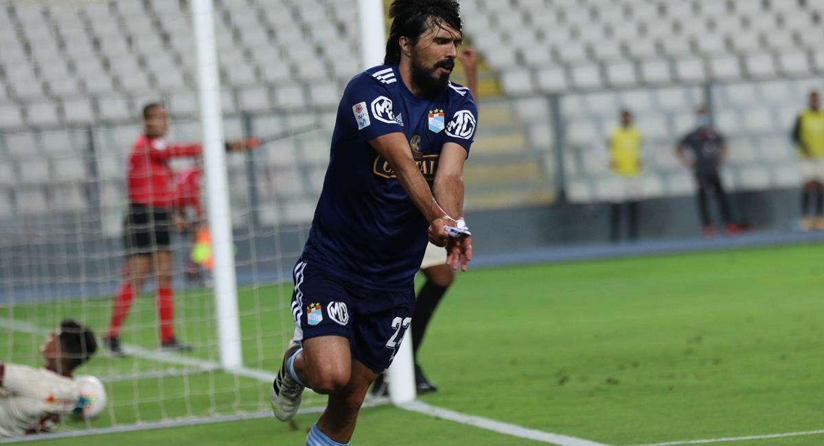 Jorge Cazulo consiguió el 2-0 a los 51 minutos. Foto: Prensa FPF