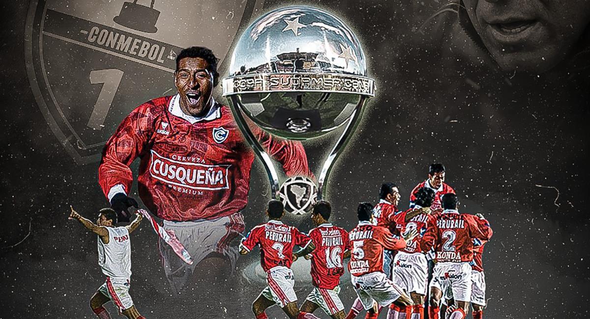 Cienciano celebra el título por Copa Sudamericana. Foto: Twitter Cienciano del Cusco