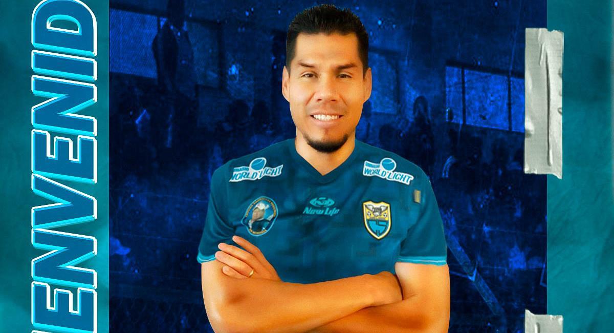 Hernán Rengifo jugará en Carlos Stein en el 2021. Foto: Twitter @fcCarlosStein16