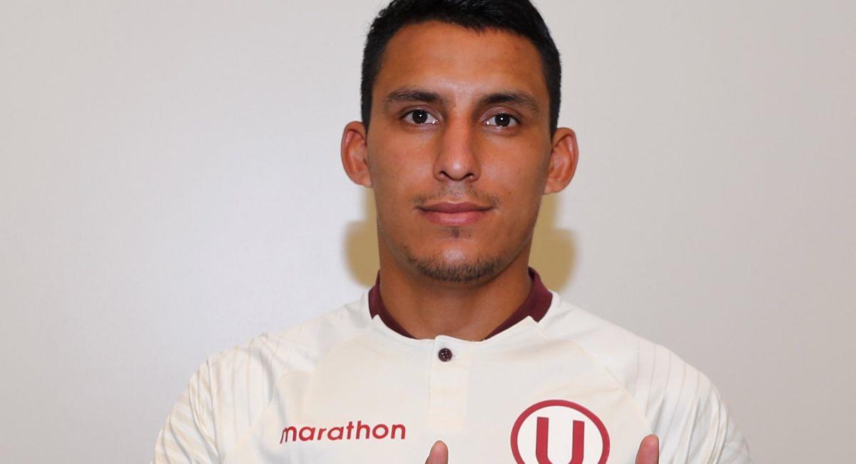 Alex Valera defenderá la camiseta de Universitario. Foto: Twitter Club Universitario