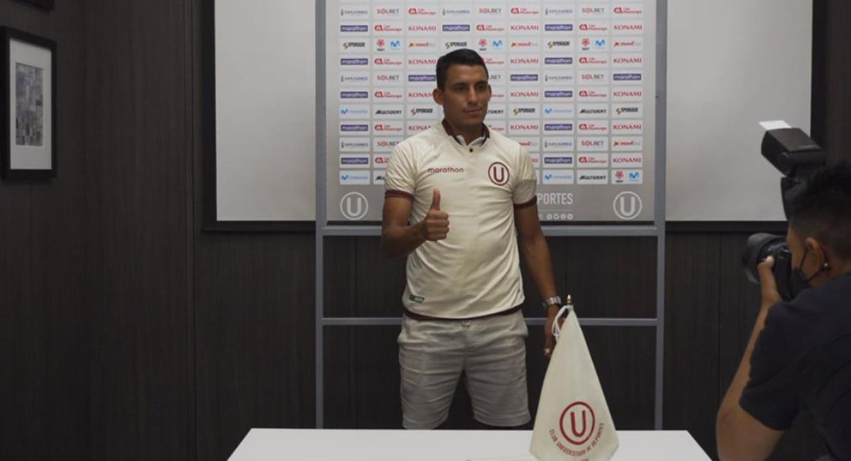 Alex Valera llega a Universitario para el 2021. Foto: Twitter Universitario Play