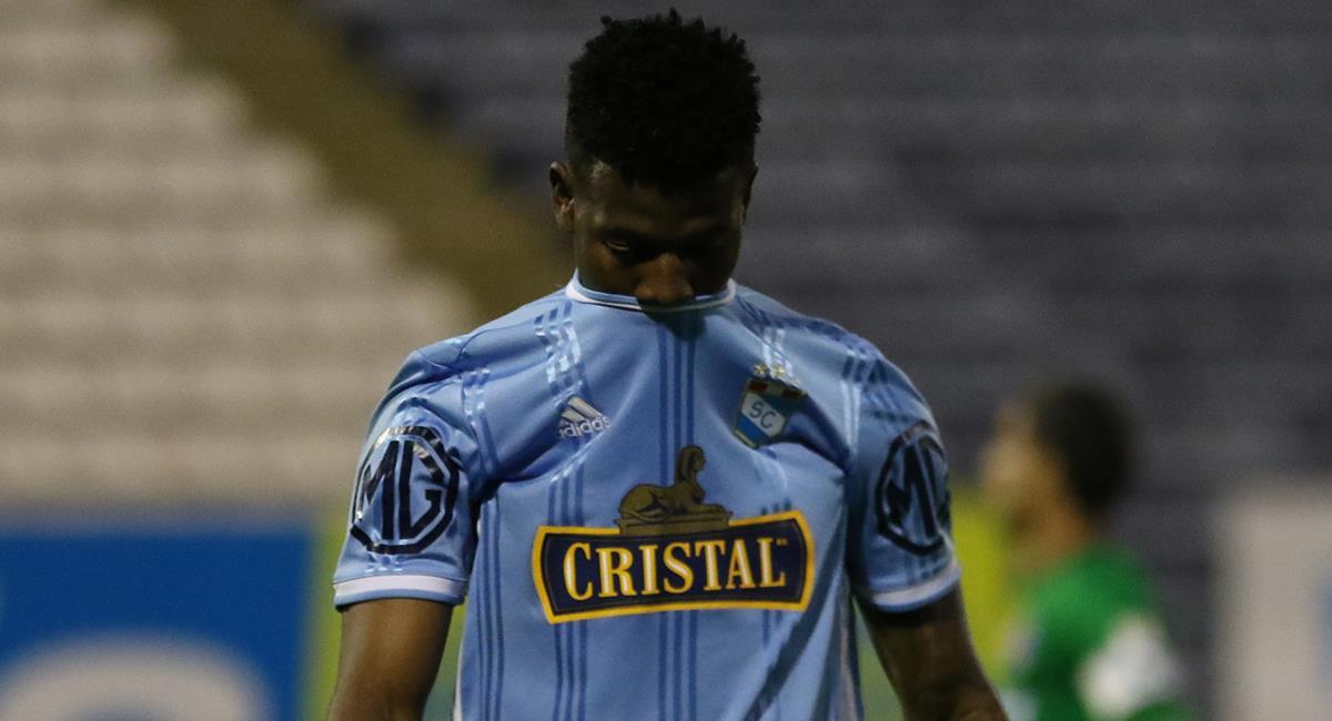 Washington Corozo marcó ocho goles con camiseta de Sporting Cristal. Foto: Prensa FPF
