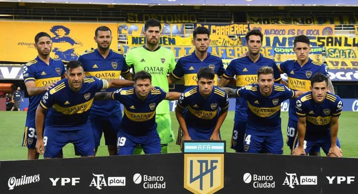 Carlos Zambrano destacó en Boca Juniors el último fin de semana. Foto: Twitter @5zambranocz