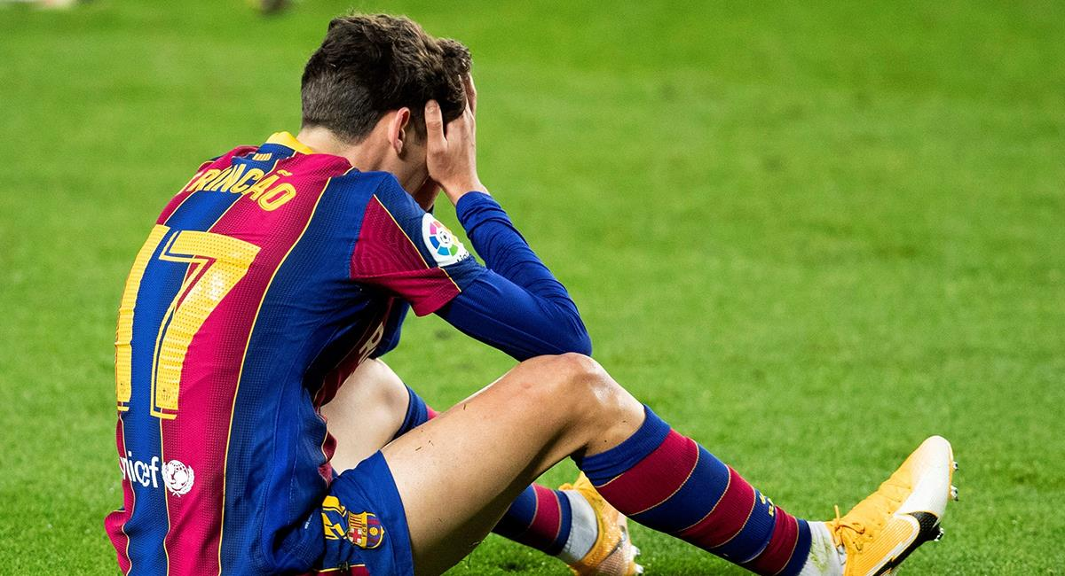 Barcelona culmina el 2020 en el sexto lugar de LaLiga Santander. Foto: EFE