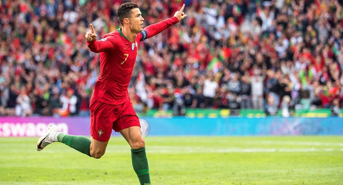 Cristiano Ronaldo apunta alto con Portugal. Foto: EFE