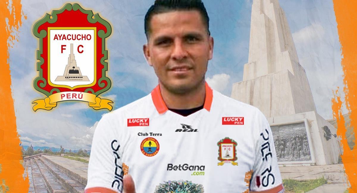 Janio Pósito llega procedente de Cusco FC. Foto: Twitter @fc_ayacucho
