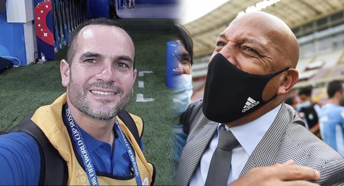 Coki Gonzales y Roberto Mosquera son tendencia en Twitter. Foto: Twitter Coki Gonzales / Prensa FPF