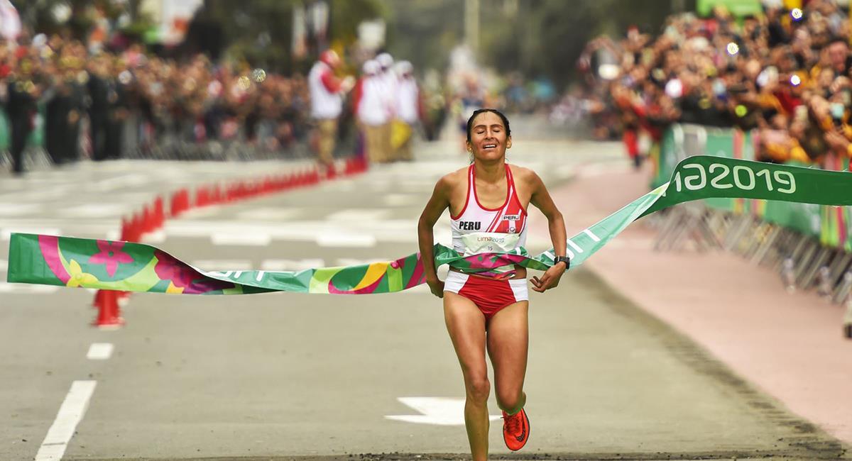 Gladys Tejeda es una de las clasificadas a Tokio 2020. Foto: Andina