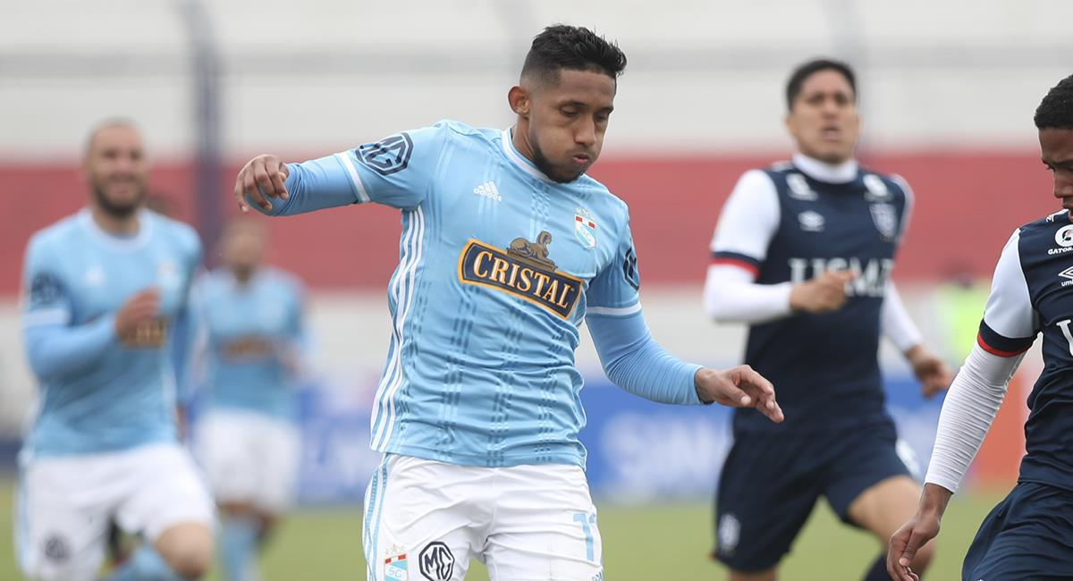 Christofer Gonzales aún mantiene contrato con Cristal. Foto: Prensa FPF