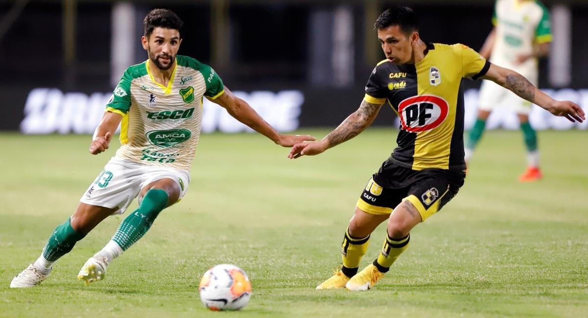 Empate sin goles entre Coquimbo y Defensa y Justicia. Foto: EFE