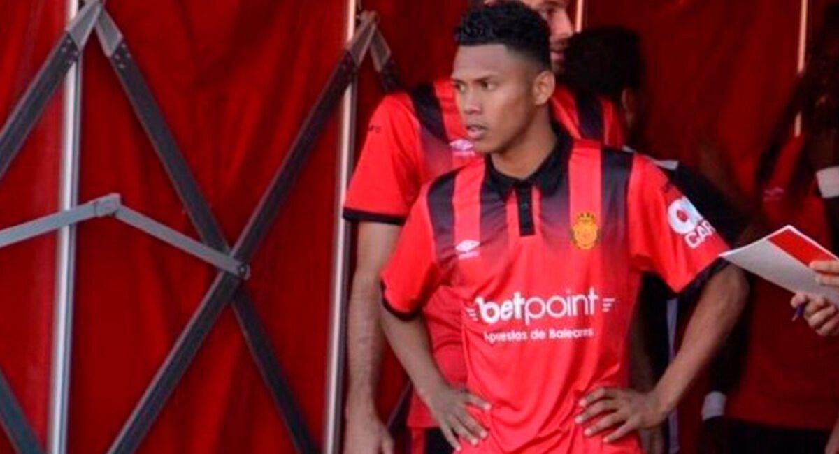 Bryan Reyna ya no es jugador del Mallorca de España. Foto: Club Mallorca