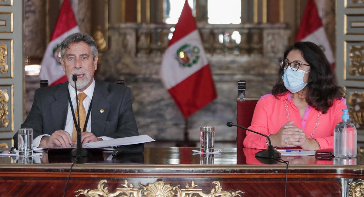 Francisco Sagasti y las medidas en el Perú. Foto: Twitter Presidencia del Perú