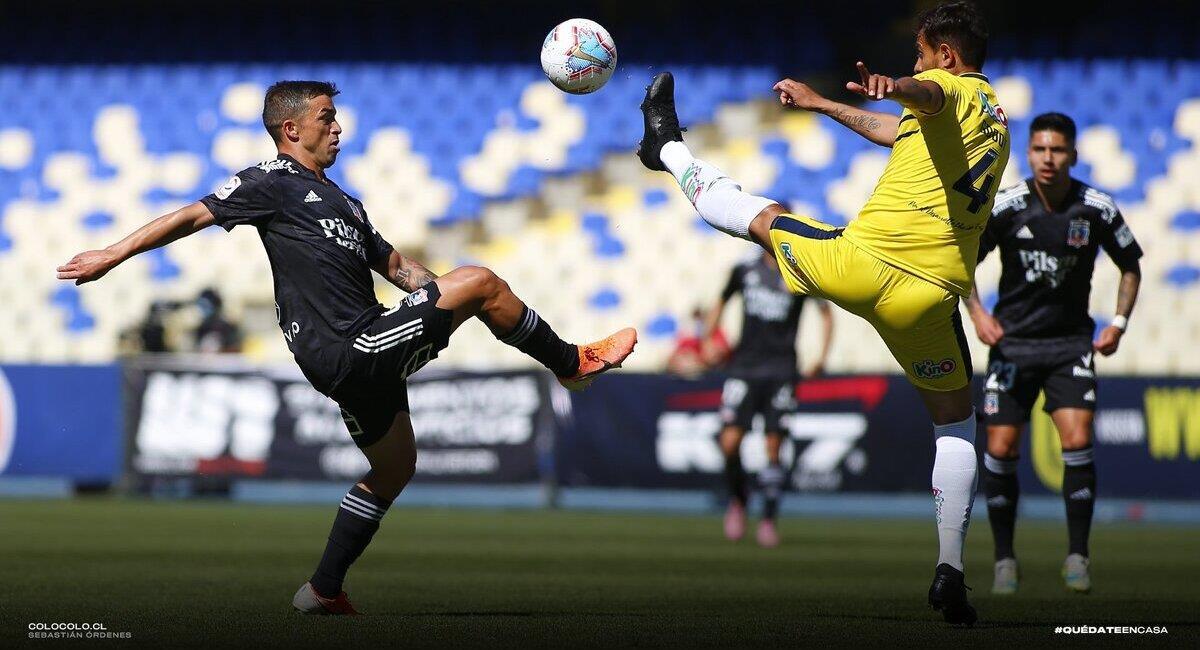 Gabriel Costa marcó el gol del empate. Foto: Twitter Colo Colo