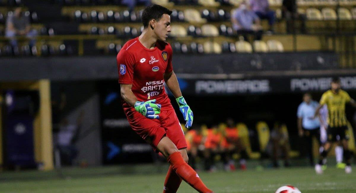 Alejandro Duarte viene de jugar en Sportivo Luqueño. Foto: Twitter Alejandro Duarte