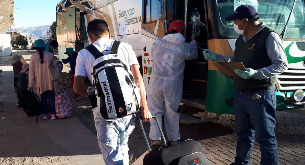 Viajes interprovinciales siguen permitidos. Foto: Andina