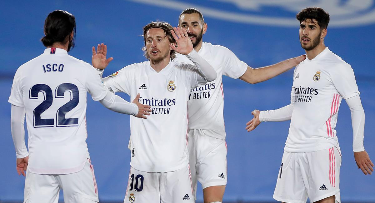 Real Madrid busca la final de la Supercopa de España. Foto: Twitter Real Madrid