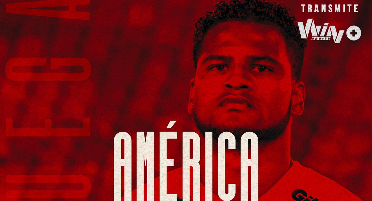 Aldair Rodríguez dio asistencia para América de Cali. Foto: Twitter América de Cali