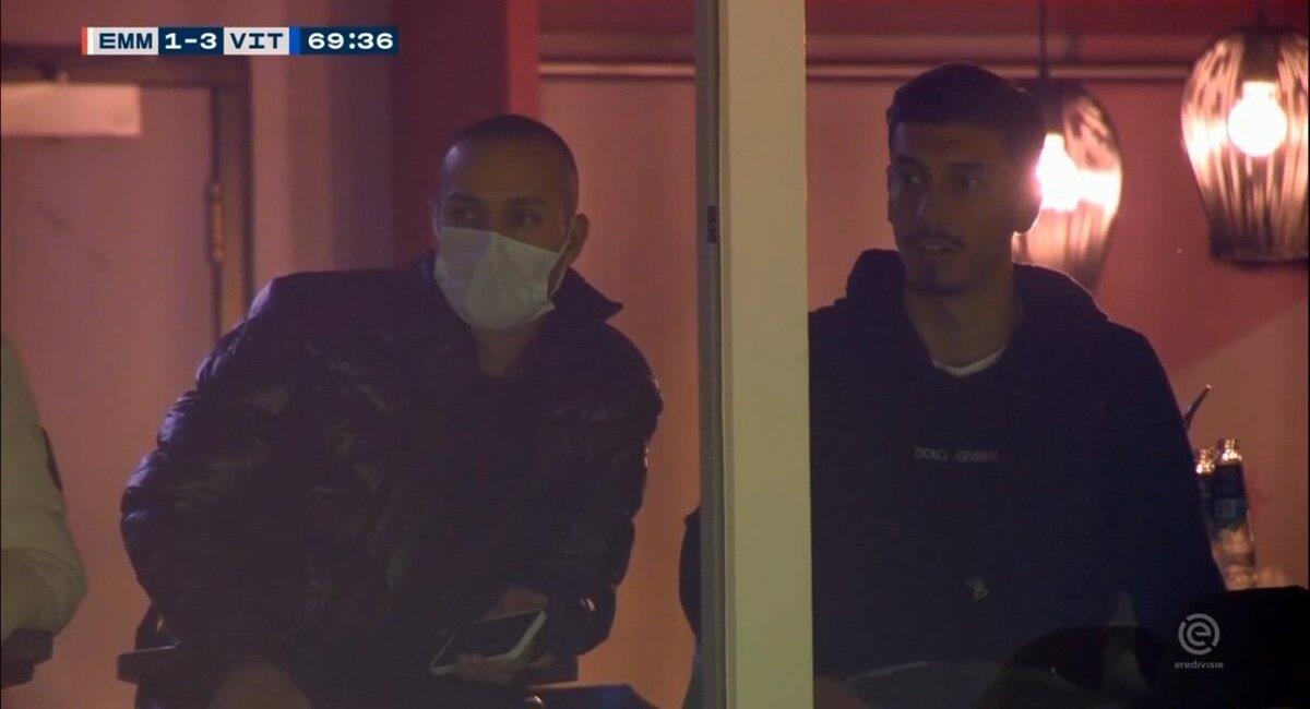 Rhyner vivió la goleada sobre FC Emmen. Foto: Twitter @adriancabp