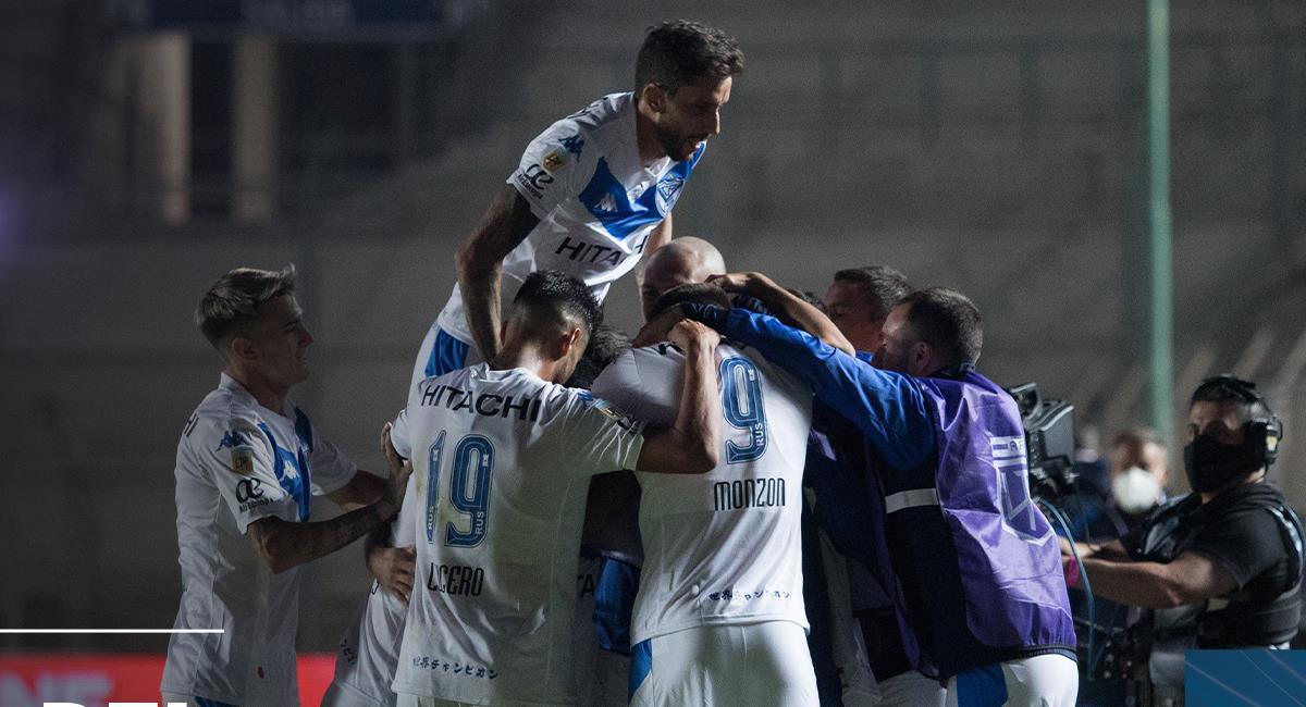Vélez logró celebrar ante Rosario Central. Foto: Twitter Vélez Sarsfield