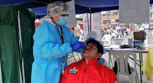 Covid 19 en Perú: reporte de infectados al domingo 17 de enero