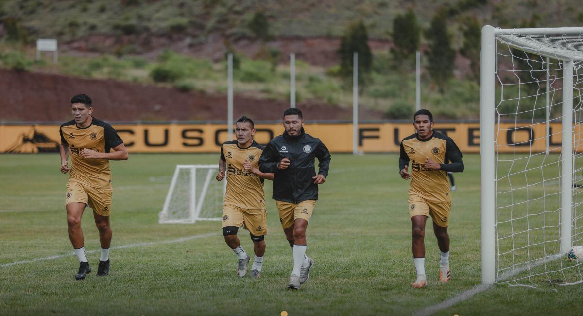 Cusco FC se sigue preparando para la Liga 1. Foto: Facebook Club Cusco FC
