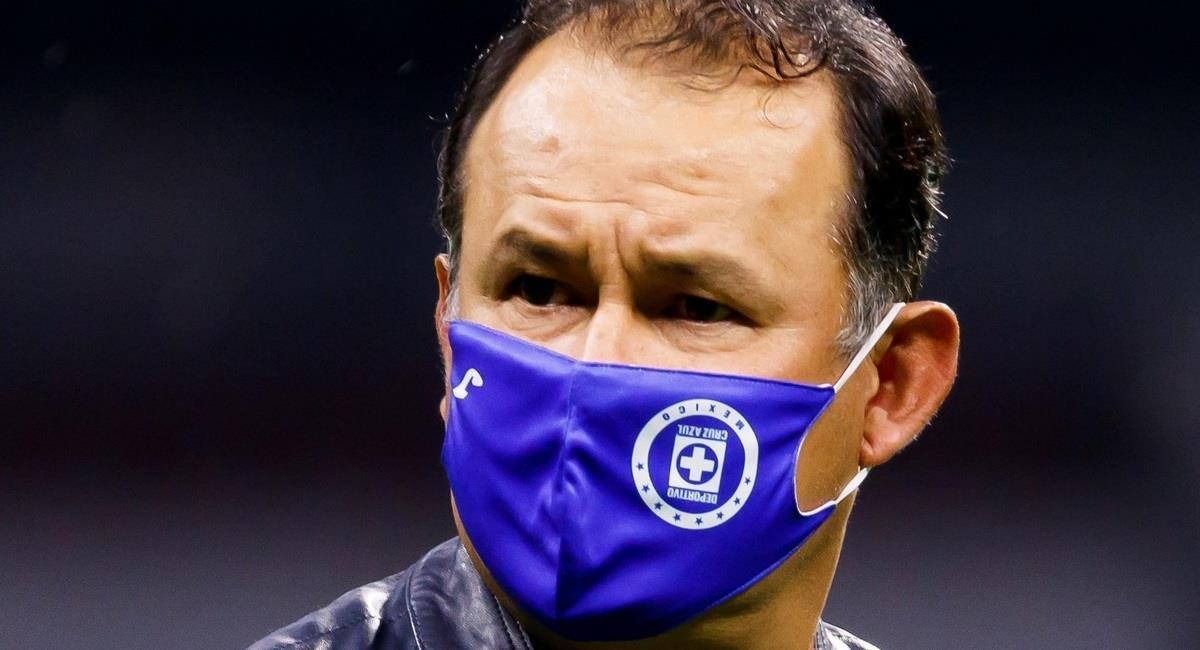 Juan Reynoso es criticado en México. Foto: EFE