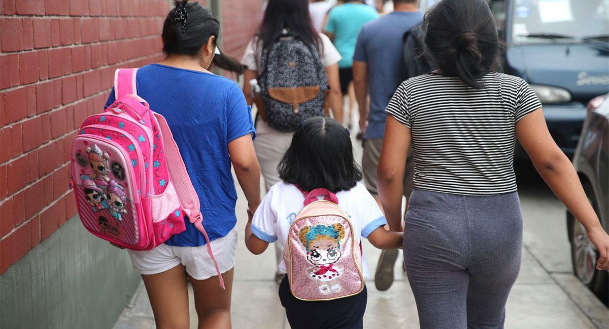 Matrícula para la Educación Básica 2021 se iniciará el 25 de enero. Foto: Andina