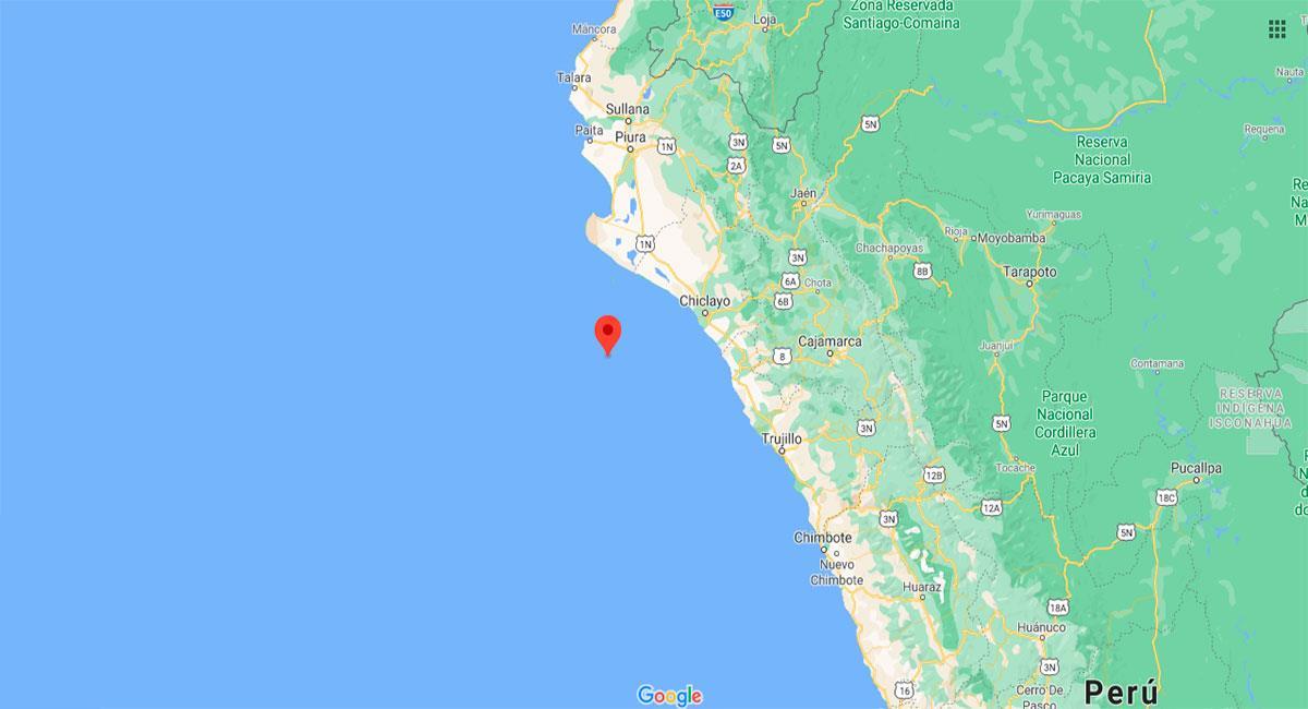 Temblor sacudió Lambayeque este jueves por la madrugada. Foto: Google Maps