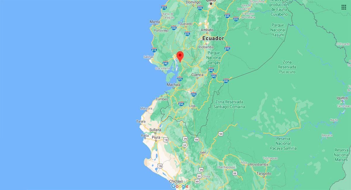 Temblor sacudió Zarumilla (Tumbes) este jueves 21 de enero. Foto: Google Maps