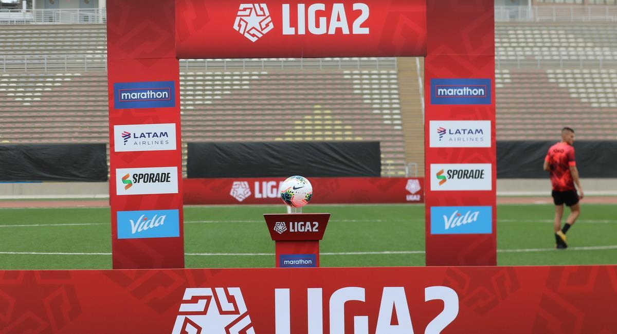 Liga 2 no tendría descenso este 2021. Foto: Prensa FPF