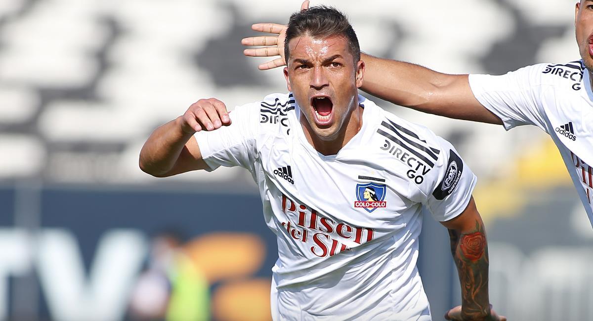 Gabriel Costa vuelve a dar el grito de gol en Chile. Foto: Twitter Colo Colo
