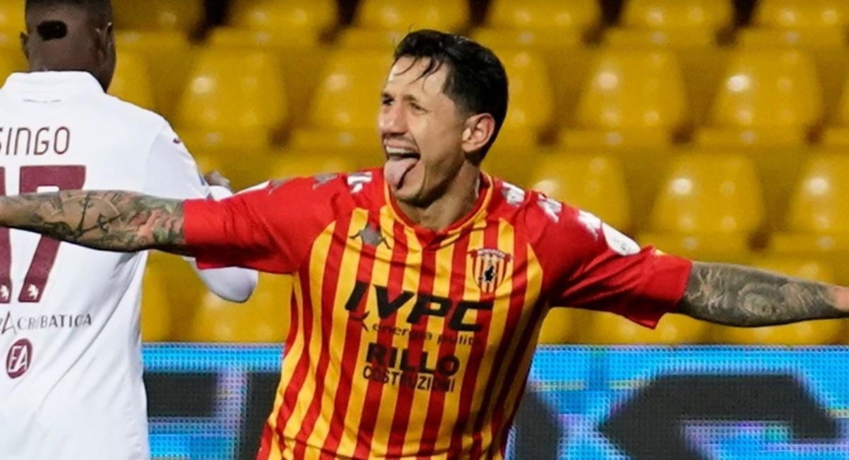 Lapadula volvió a dar el grito de gol. Foto: EFE
