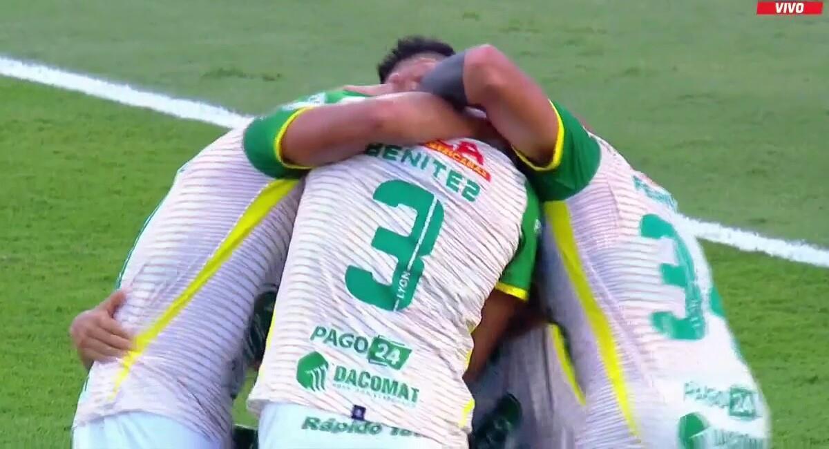 Camacho pone el gol del título. Foto: Twitter Captura ESPN