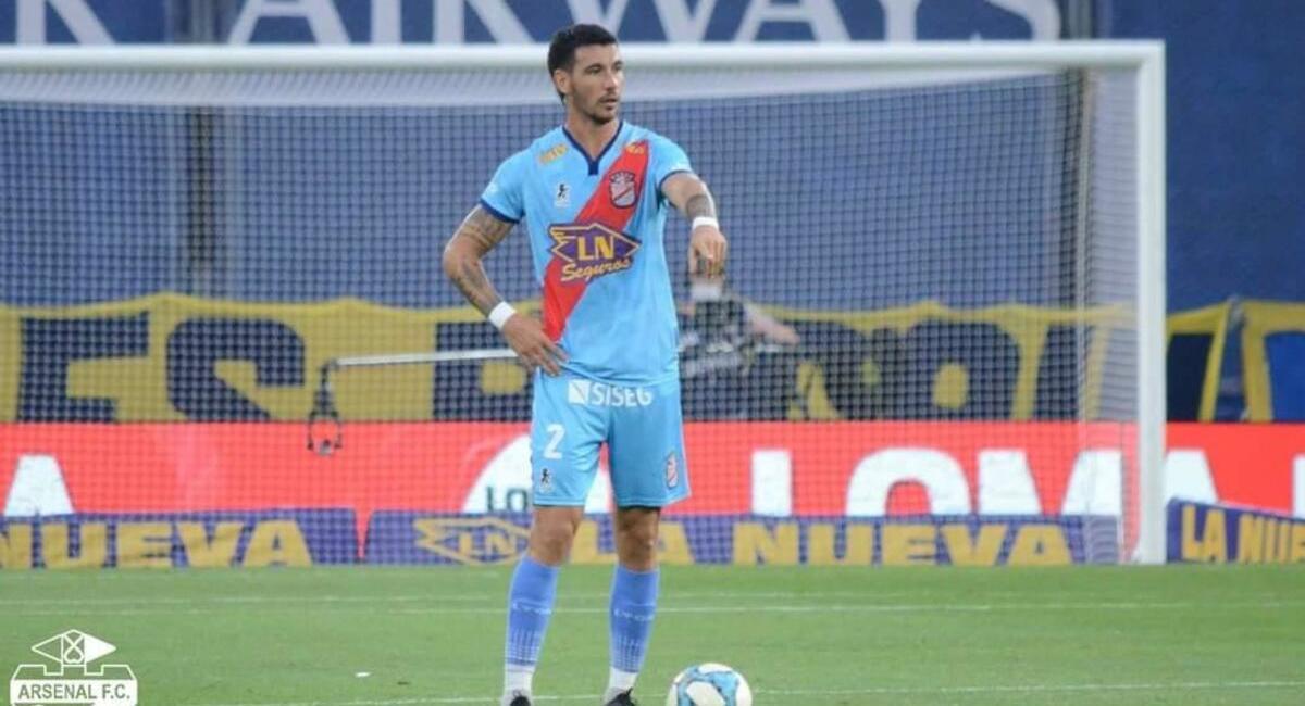 Fabio Pereyra rescindió contrato con el plantel argentino. Foto: Facebook Arsenal Sarandí