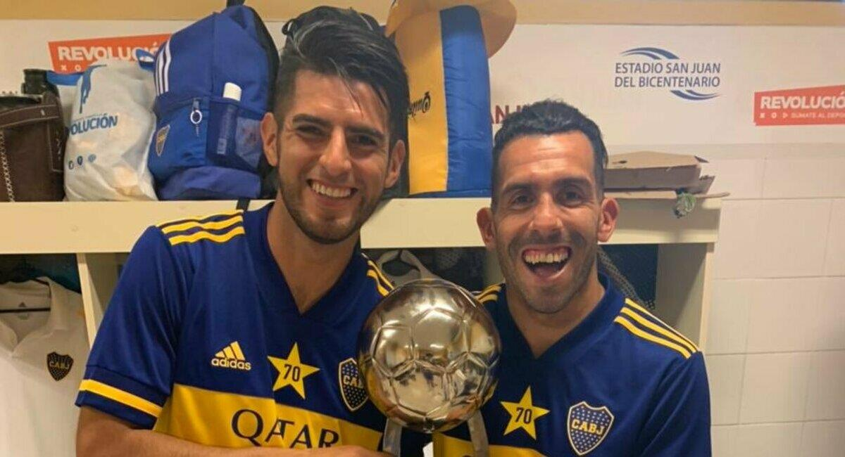 Zambrano sumó buena estadística con Boca Juniors. Foto: Twitter Carlos Zambrano
