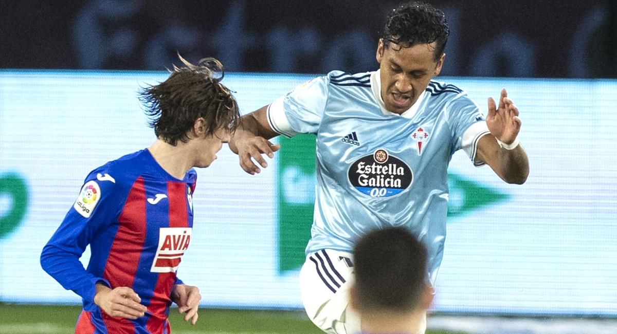 Renato Tapia jugó los 90 minutos. Foto: Twitter Celta de Vigo