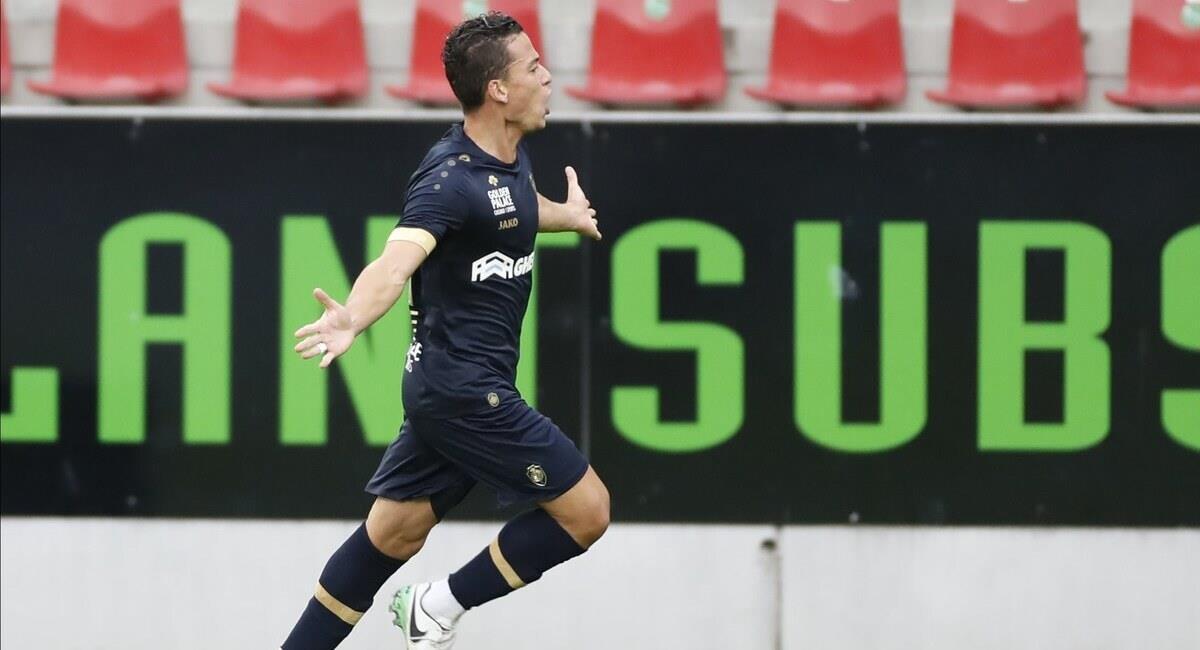 Benavente espera tener minutos en la Jupiler Pro League. Foto: Prensa Royal Antwerp