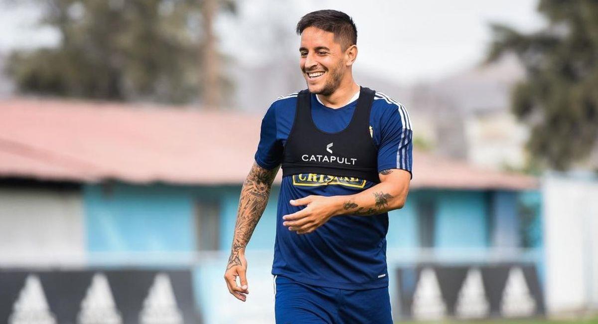 Alejandro Hohberg es uno de los refuerzos de Sporting Cristal. Foto: Instagram alehohberg10