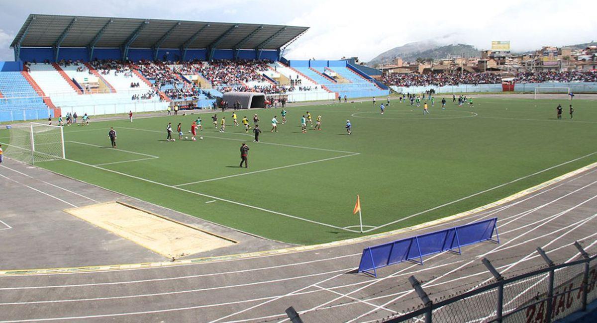Estadio de Cajamarca no puede ser usado en la Copa Sudamericana. Foto: Twitter