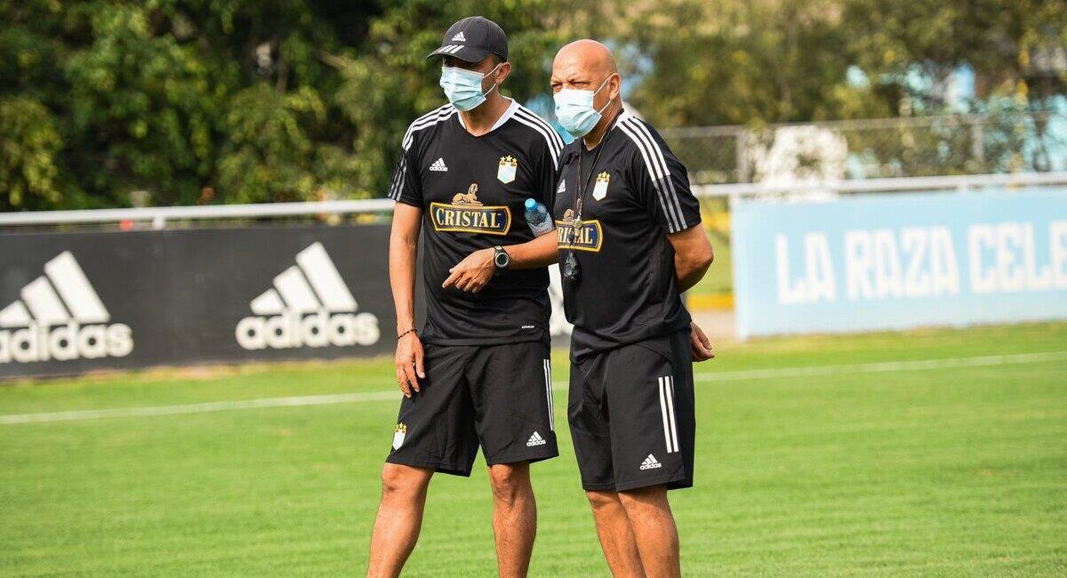 Roberto Mosquera quiere el entrenamiento presencial. Foto: Twitter Club Sporting Cristal