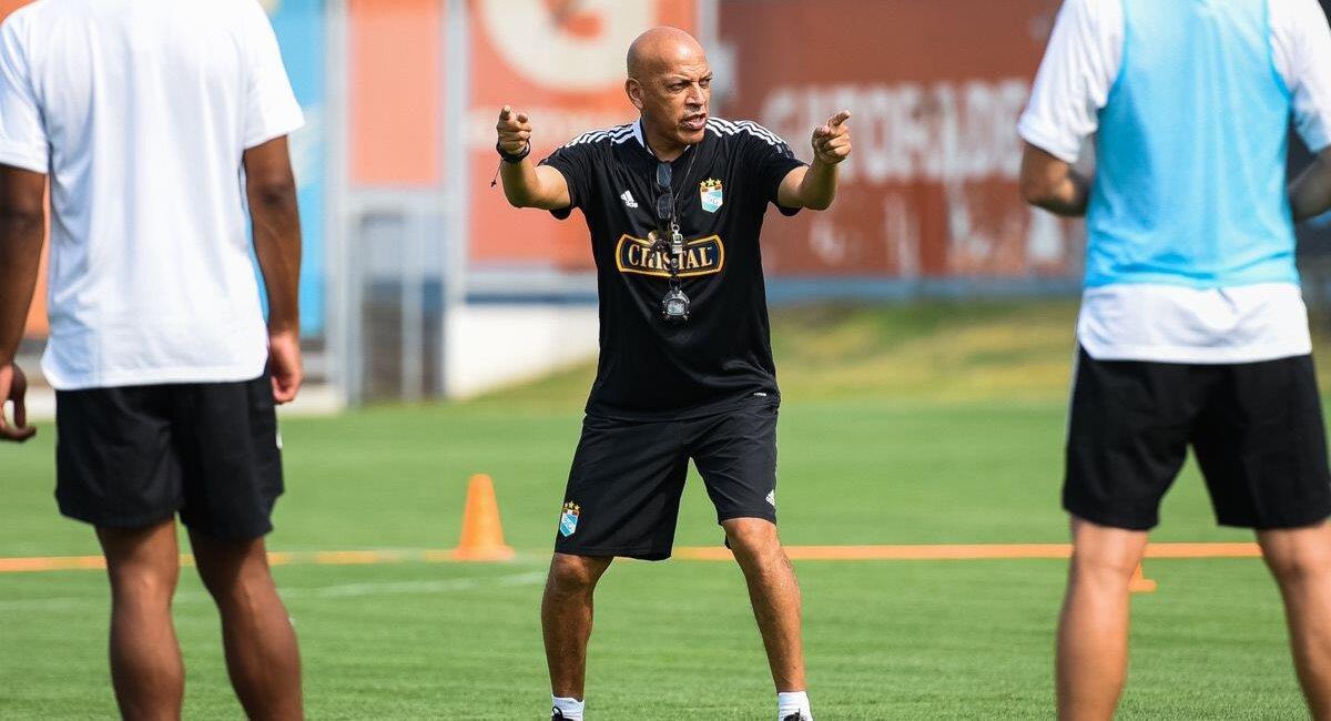 Mosquera quiere llegar bien preparado a la Libertadores. Foto: Twitter Club Sporting Cristal