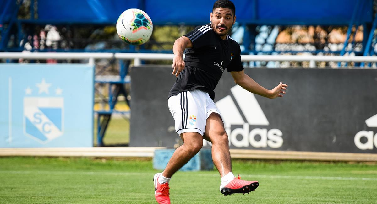 Percy Prado llega esta temporada 2021 a Sporting Cristal. Foto: Twitter @ClubSCristal