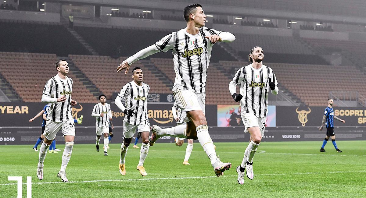 Cristiano Ronaldo marcó un 'doblete' para victoria de la Juventus. Foto: Twitter @juventusfc