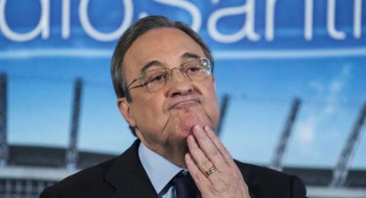 Florentino Pérez dio positivo al coronavirus a los 73 años. Foto: EFE