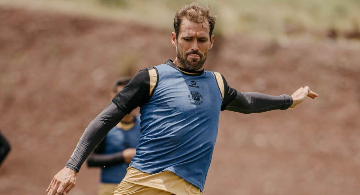 Mauricio Montes es uno de los delanteros que tiene Cusco FC. Foto: Facebook Club Cusco FC