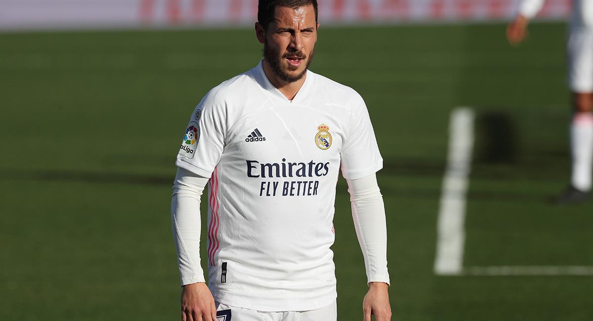 Eden Hazard será baja entre cuatro y cinco semanas. Foto: EFE