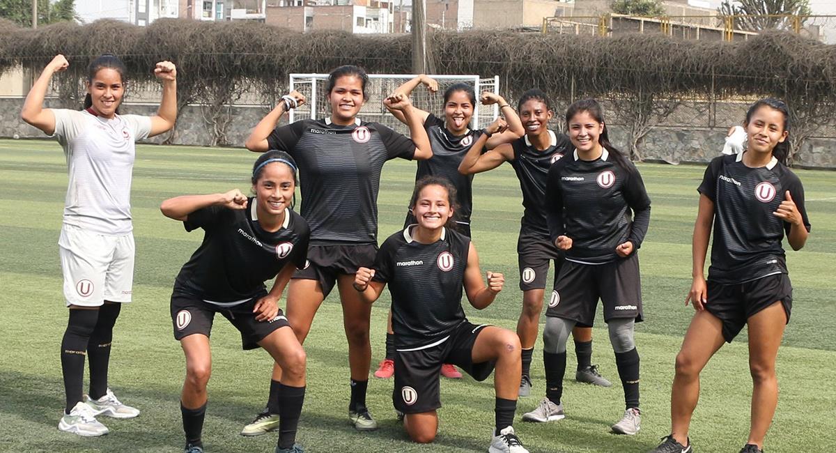 Equipo Femenino de la 'U' quiere entrenar. Foto: Twitter @FutFemeninoU