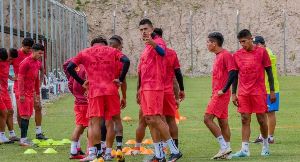 Ayacucho FC quiere dar la hora en este 2021. Foto: Facebook Club Ayacucho FC