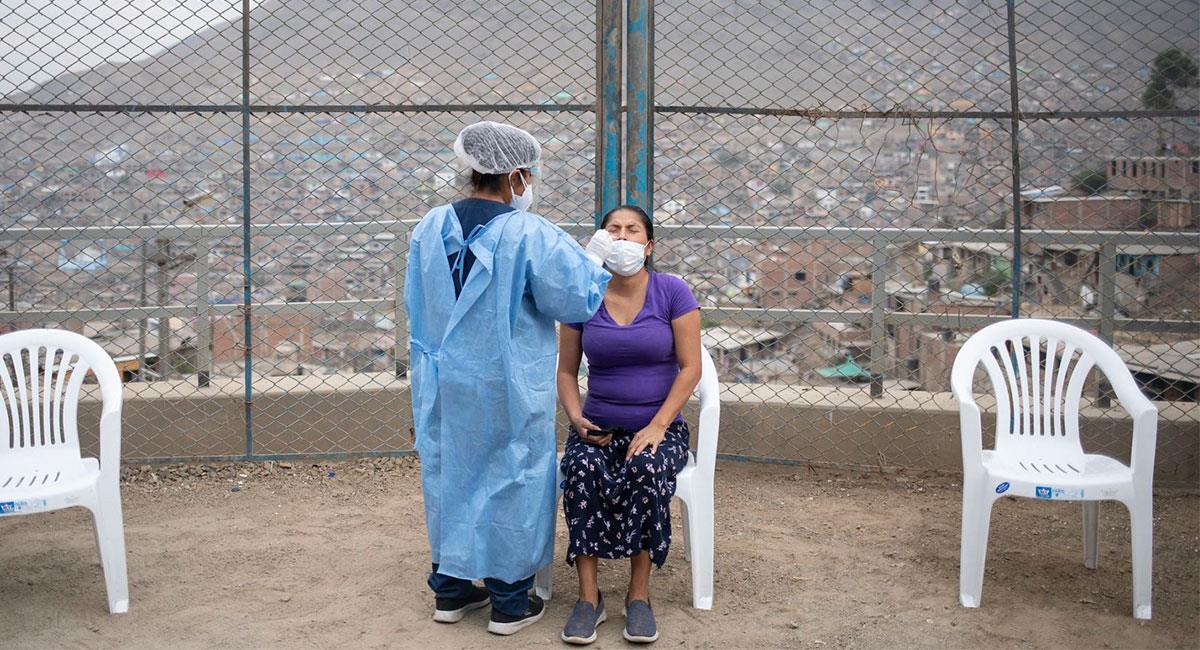 Crisis del coronavirus en Perú se mantiene en nivel extremo. Foto: Andina